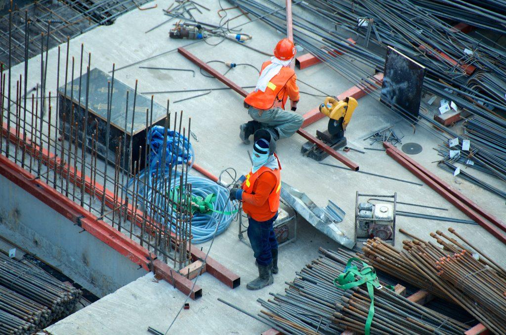 Les risques d'arthrose sur un chantier