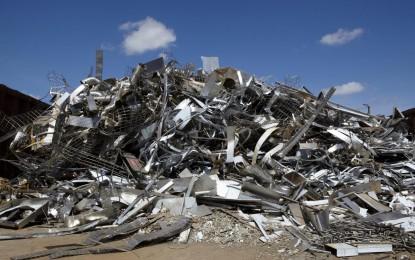 Gros plan sur le recyclage de métaux