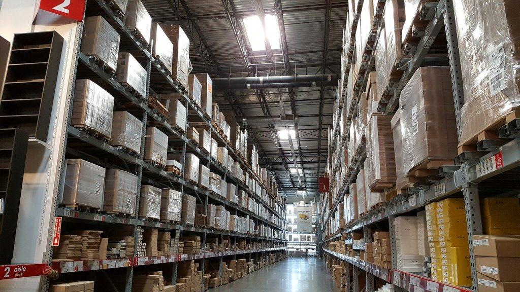 entrepôt de logistique BtoB